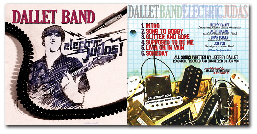 Dallet Band - Electric Judas Disc Cover